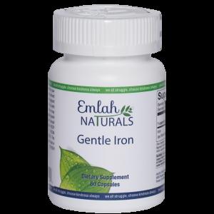 Emlah Naturals Gentle Iron 60ct