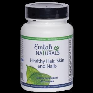 Emlah Naturals Healthy Hair Skin Nails 60ct