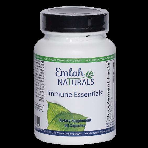 Emlah Naturals Immune Essentials 60ct