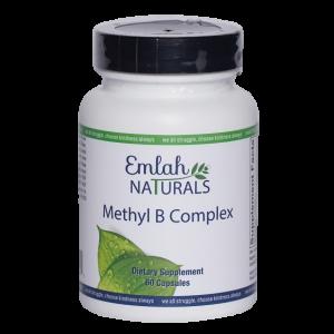 Emlah Naturals Methyl B Complex 60ct