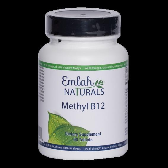 Emlah Naturals Methyl B12 60ct