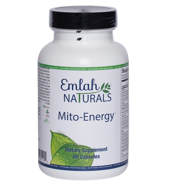 Emlah Naturals Mito-Energy 60ct