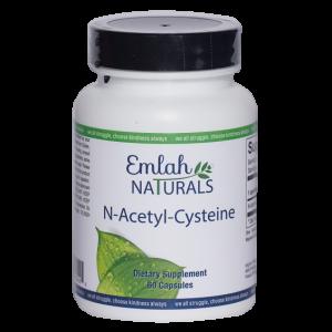 Emlah Naturals N-Acetyl-Cysteine 60ct