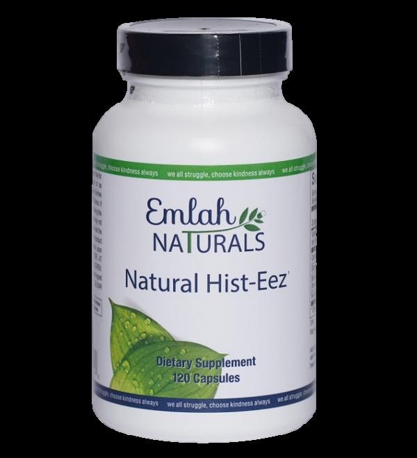 Emlah Naturals Natural Hist-Eez 120ct