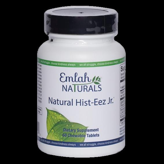 Emlah Naturals Natural Hist-Eez Jr. 60ct