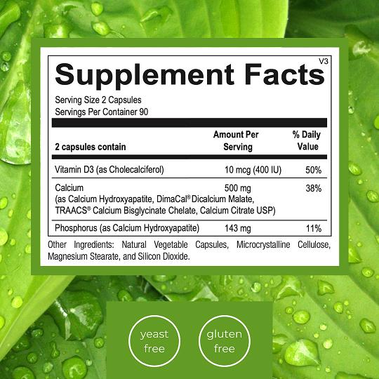 Emlah Naturals Gentle Calcium Facts