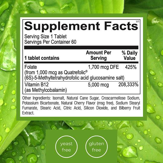 Emlah Naturals Methyl B12 Facts