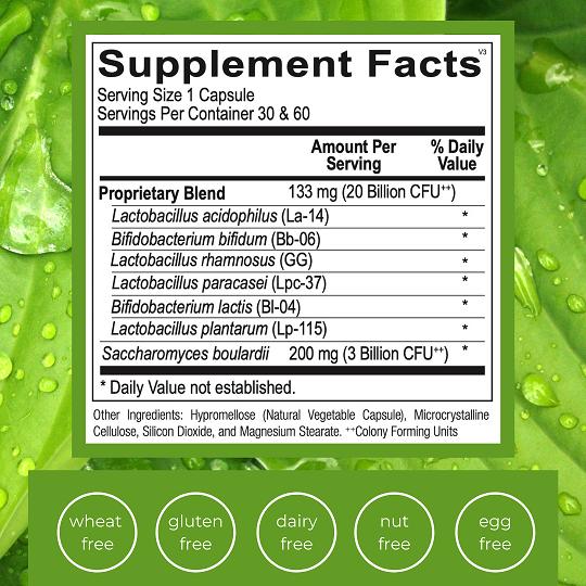 Emlah Naturals Optimal Probiotoic 20 Facts