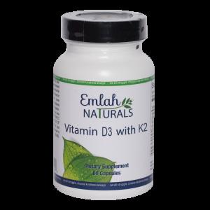 Emlah Naturals Vitamin D3 with K2