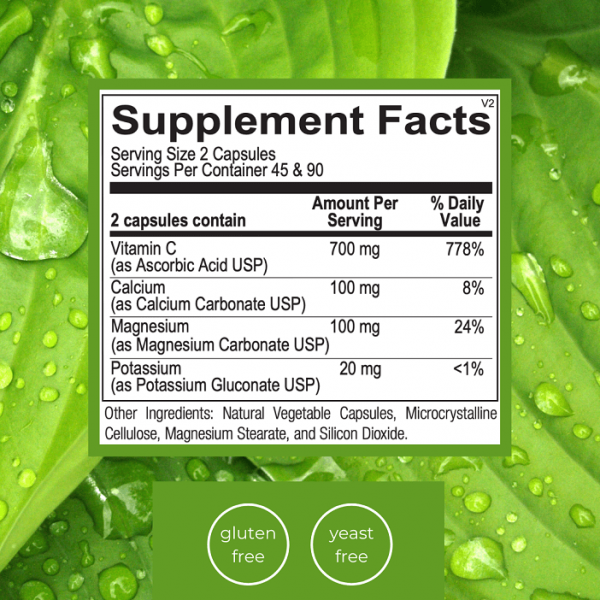 Emlah Naturals Buffered C Facts
