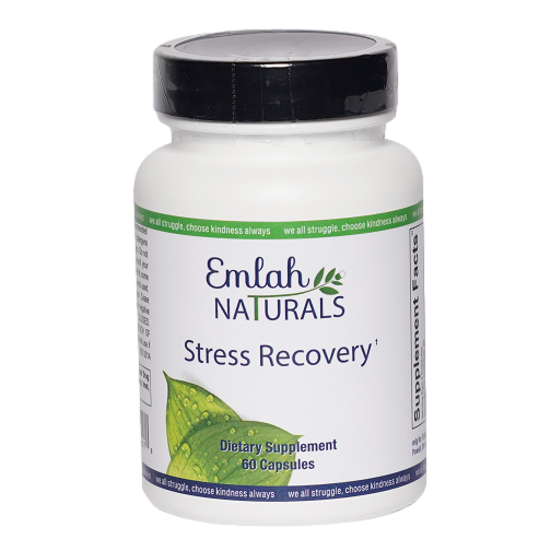 Emlah Naturals Stress Recovery 60ct
