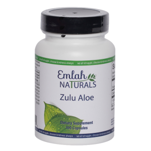 Emlah Naturals Zulu Aloe 100ct