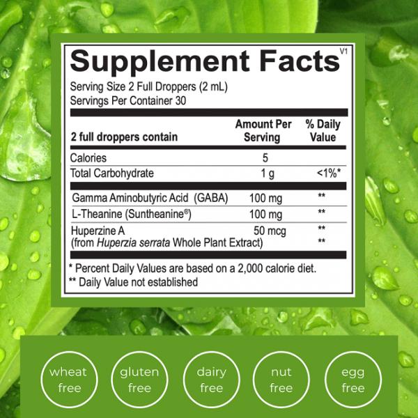 Emlah Naturals Liquid Calm Facts