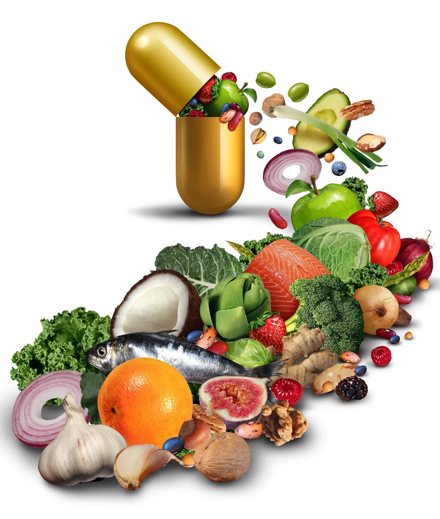 Opened Vitamin Pill