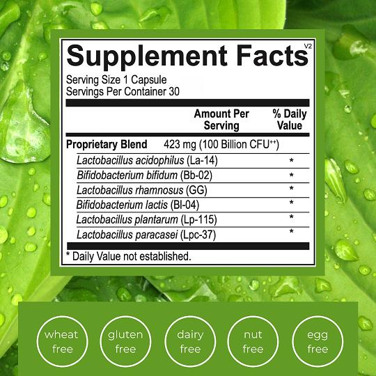 Emlah Naturals Optimal Probiotic 100 Facts